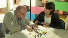 Ciro Pirondi during the Lego Interview with Patrizia Bertini